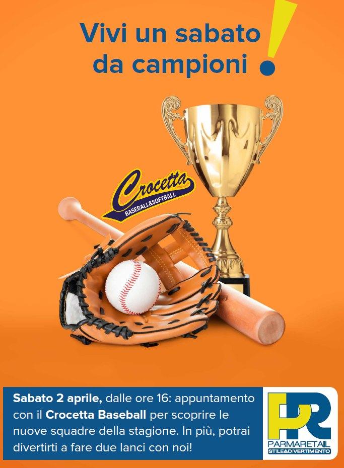 Baseball e Softball a Parma Retail Sabato 2 aprile incontro con gli sport delle responsabilità