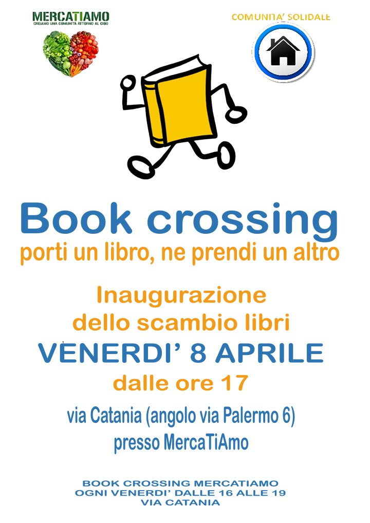 Book crossing a MercaTiAmo