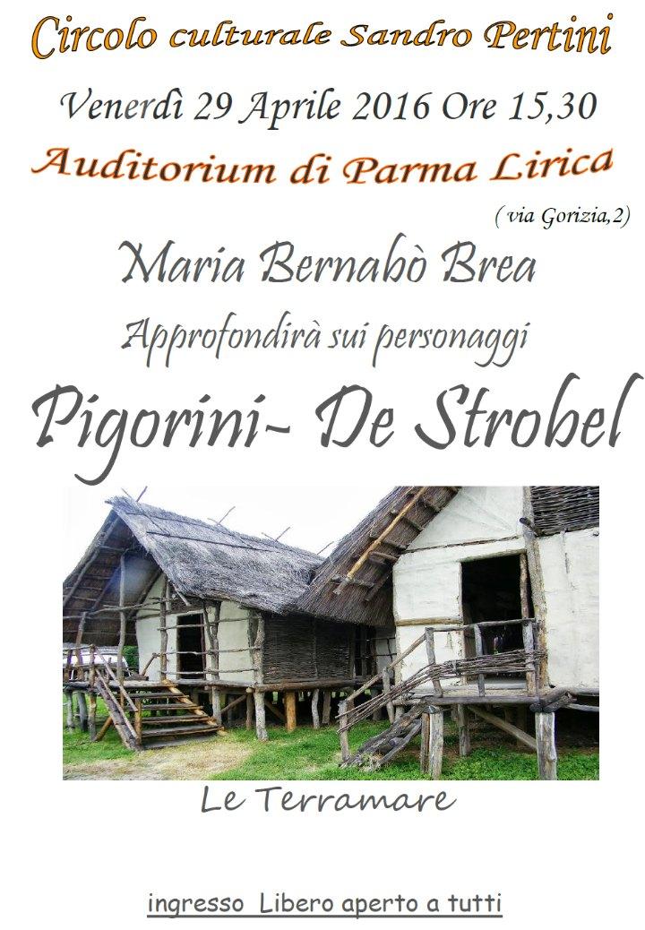 Terramare, Pigorini – De Strobel