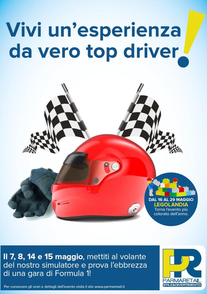 Il Gran Prix di Parma Retail - Il simulatore di guida come in Formula 1