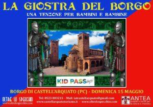 Locandina Kid Pass Day - LA GIOSTRA DEL BORGO