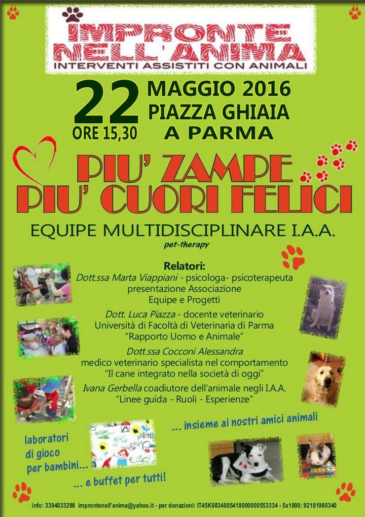 Convegno Interventi Assistiti con Animali (pet therapy)