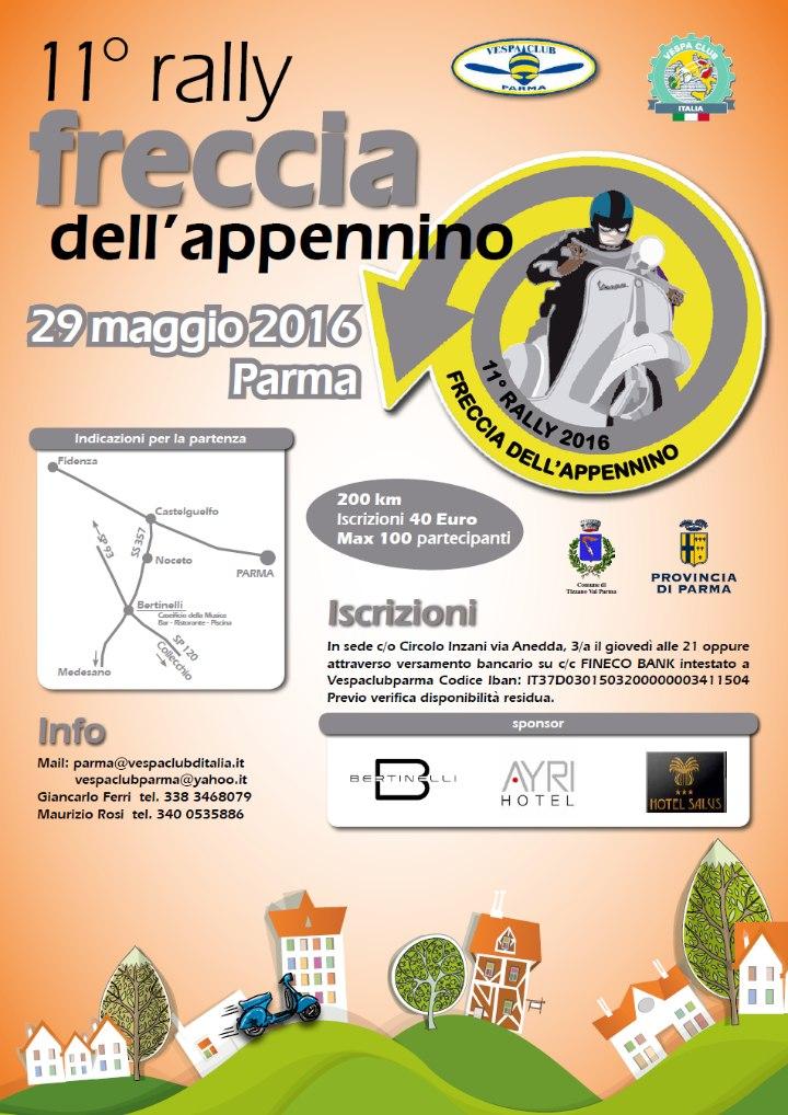 Vespa Club Parma - 11^ Freccia dell'Appennino -29 maggio 2016