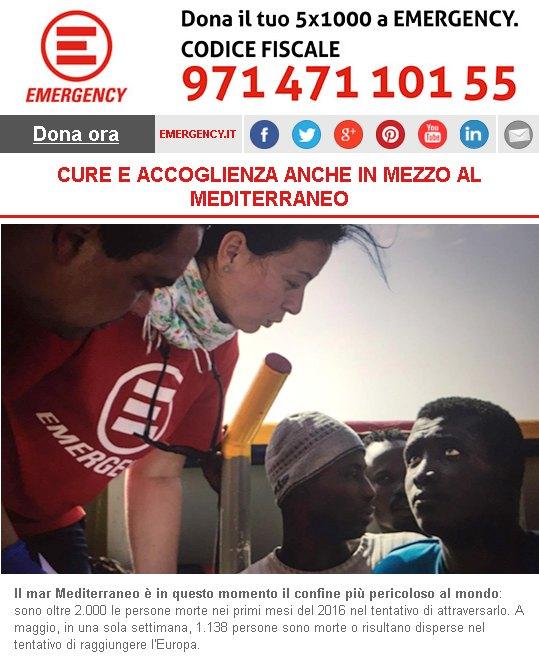 Cure e accoglienza anche in mezzo al Mediterraneo