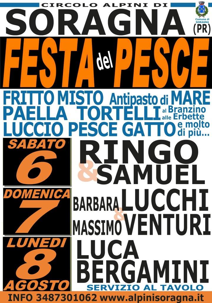 """""""Circolo e Gruppo Alpini di Soragna """" Festa del pesce"""