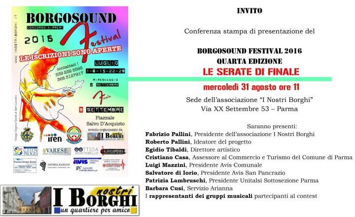Borgosound festival 2016 - le finali