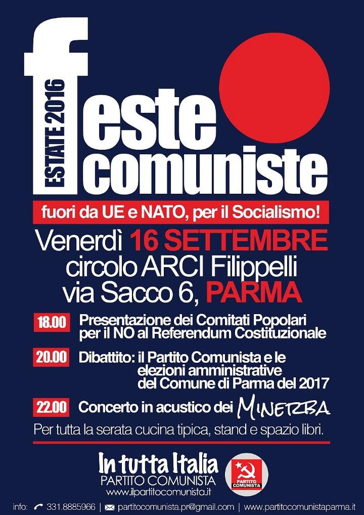 FESTA COMUNISTA - PARMA