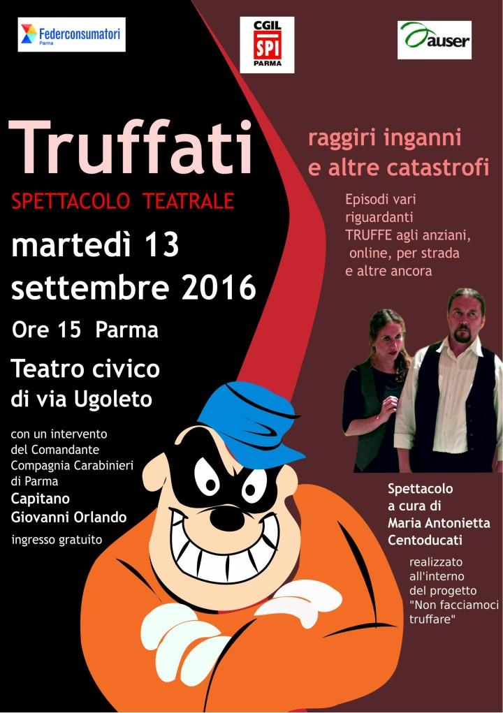 Campagna SPI- Federconsumatori- Auser Parma su TRUFFE