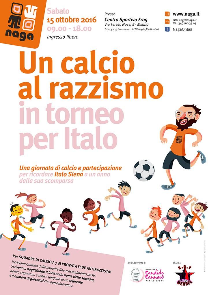 """""""Un calcio al razzismo - In torneo per Italo"""""""