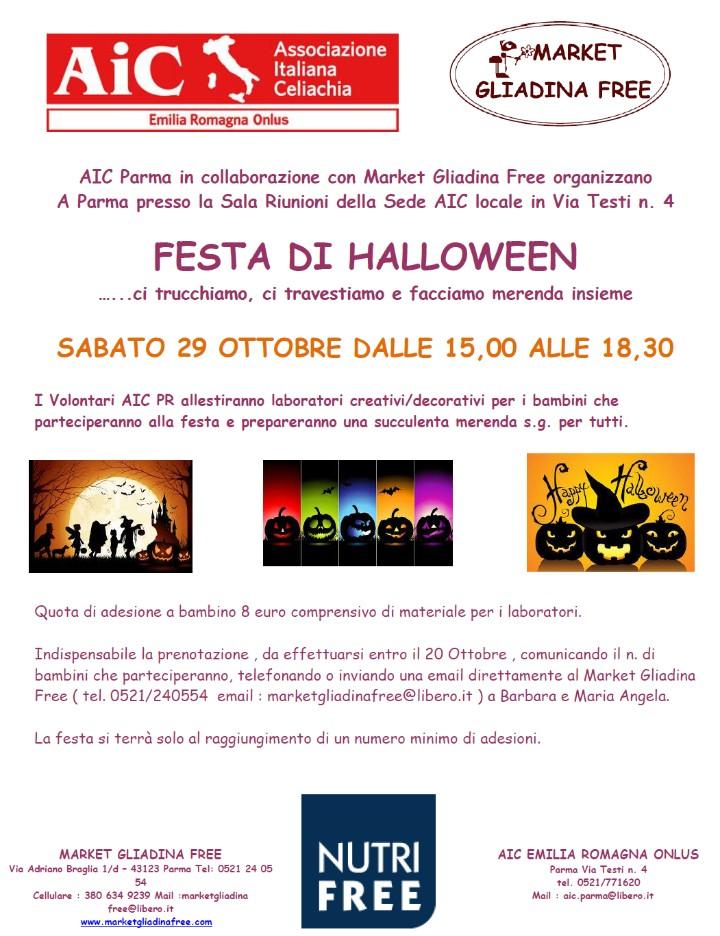 AIC FESTA DI HALLOWEEN