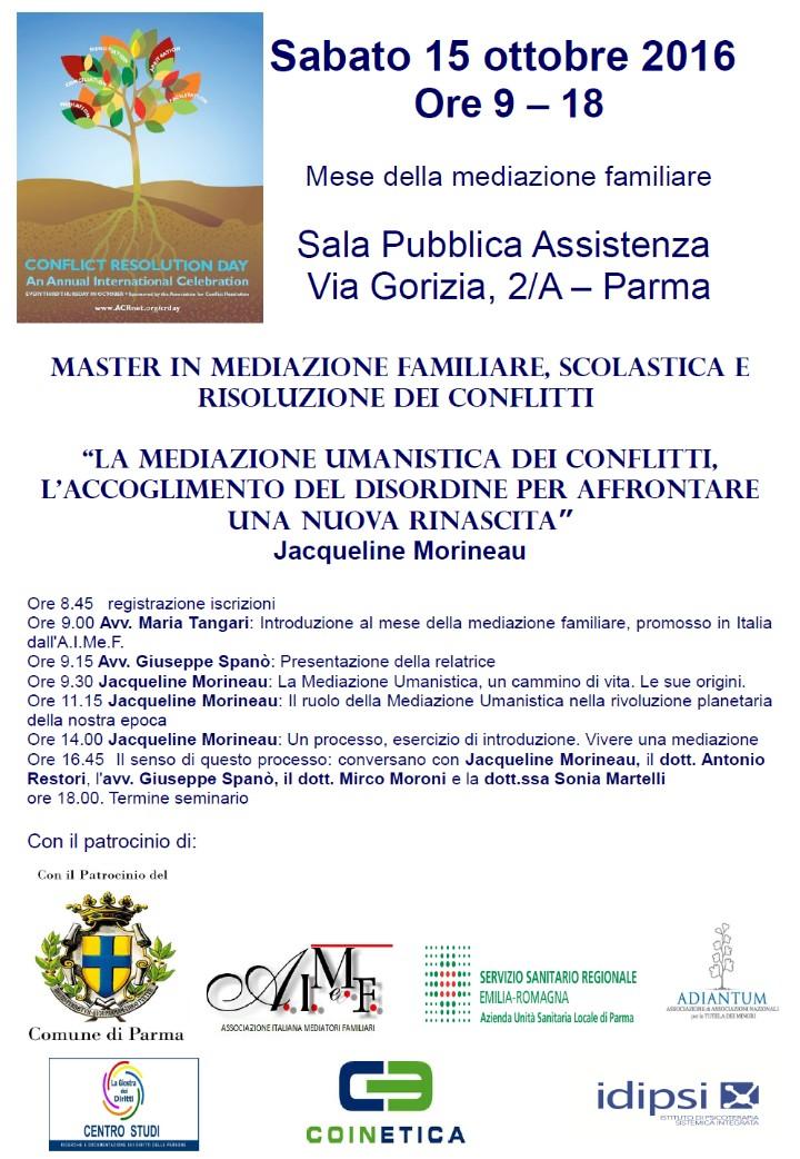 VII edizione Mese della Mediazione Familiare
