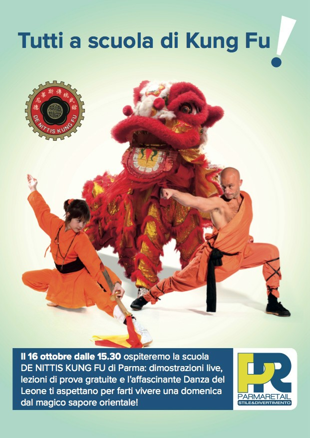 Parma Retail si trasforma in set di Kung Fu dal magico sapore orientale!