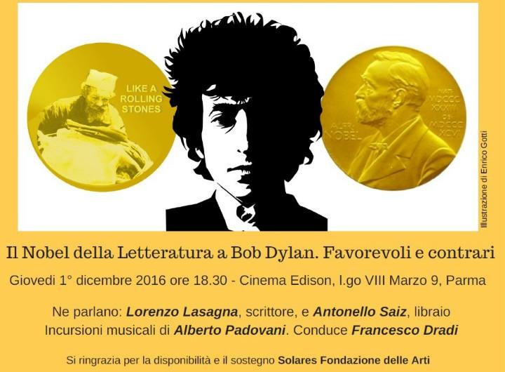Dylan e il Nobel della Letteratura