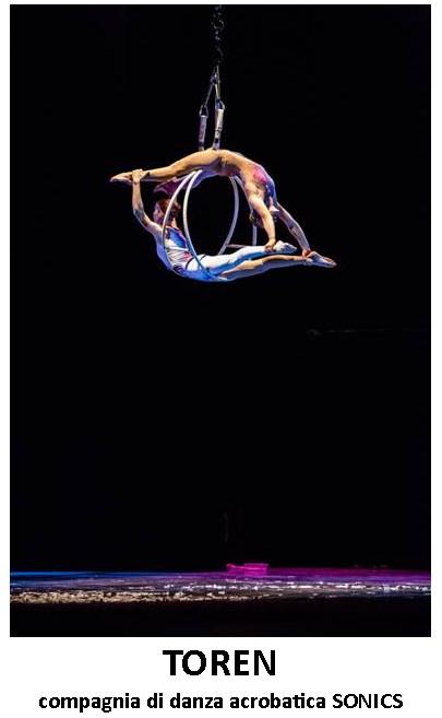 Compagnia di danza acrobatica Sonics - sabato 21 gennaio Teatro Arena del Sole di Roccabianca