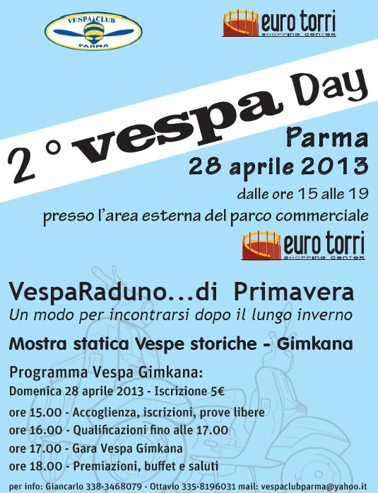 2° VESPADAY - Parma - 28 aprile 2013