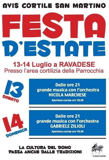 AVIS Cortile S.Martino, Festa d'Estate 2013
