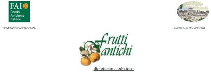 Frutti Antichi al Castello di Paderna