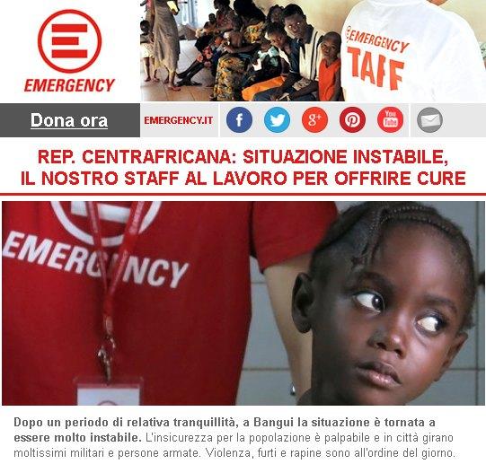 Emergency Bangui