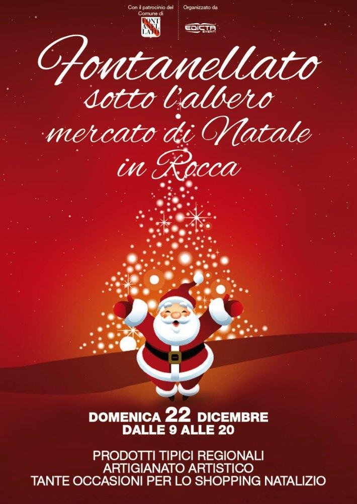 Domenica 22 dicembre a Fontanellato il Mercato di Natale
