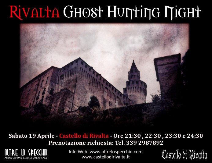 """Sabato 19 aprile andrà in scena la """"Ghost Hunting Night"""", Una speciale vista guidata in notturna, in cui, una guida specializzata sulle attività"""