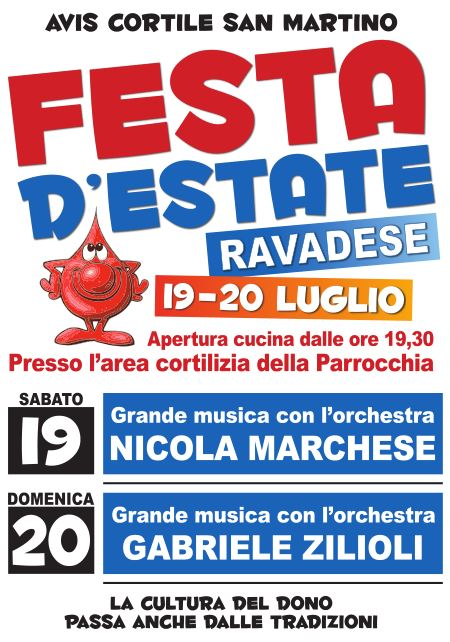 Manifesto Festa d'estate 2014