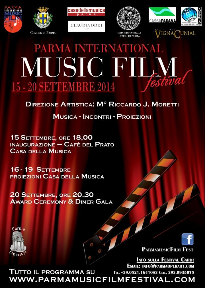 Al via la seconda edizione del Parma International Music Film Festival