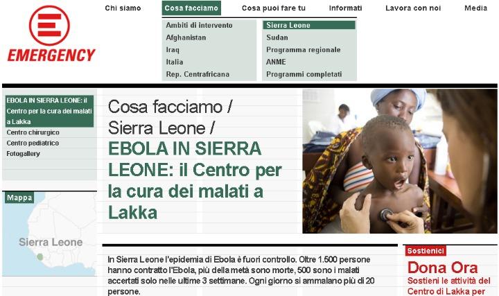 Una settimana dopo l'apertura del centro per i malati di Ebola di EMERGENCY in Sierra Leone