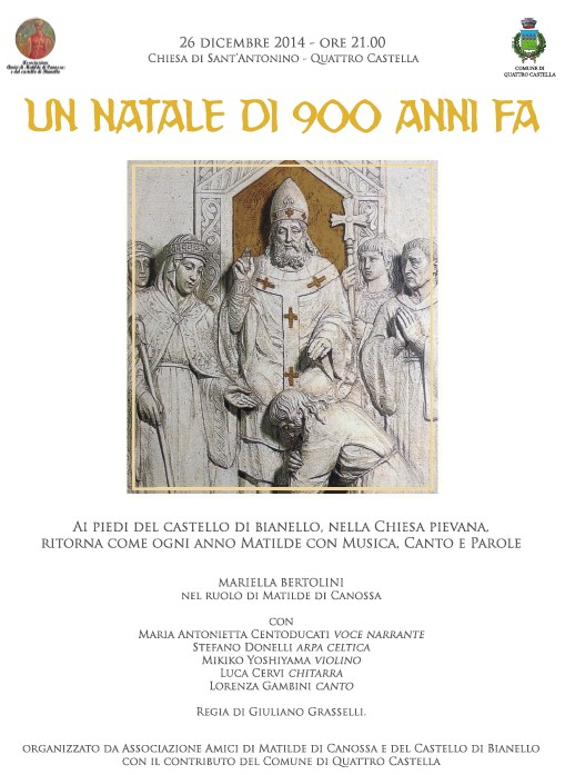Dall'Associazione Amici di Matilde di Canossa e del Castello di Bianello
