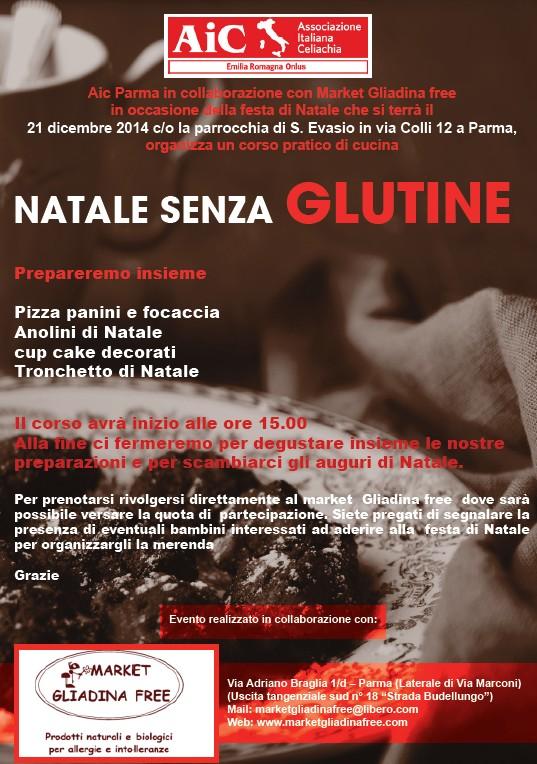 """Corso di cucina """" NATALE SENZA GLUTINE"""""""