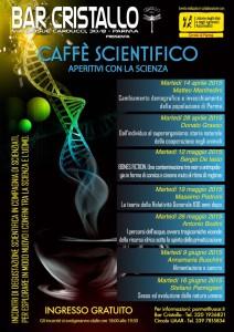 Parma, Caffè scientifico - Aperitivi con la scienza