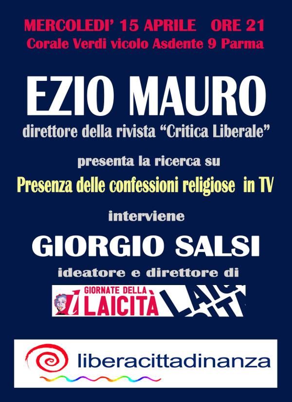 """""""La presenza delle confessioni religiose nei media ed in particolare nella televisione"""""""