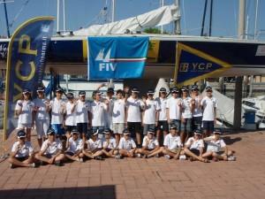 Precedente corso di vela per ragazzi dello Yacht Club Parma