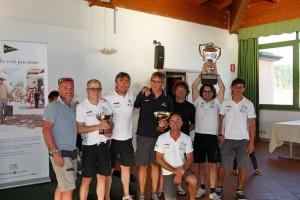 L'equipaggio di Stella vincitore del Trofeo Allodi 2015