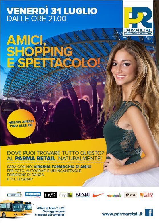 Virginia Tomarchio a Parma Retail_31_07_15