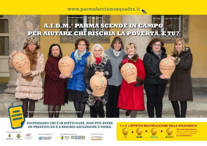 AIDM ambasciatrici di Parma Facciamo Squadra