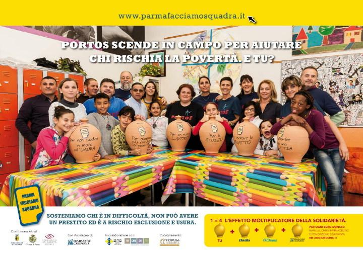 Anche Portos Lab per Parma Facciamo Squadra