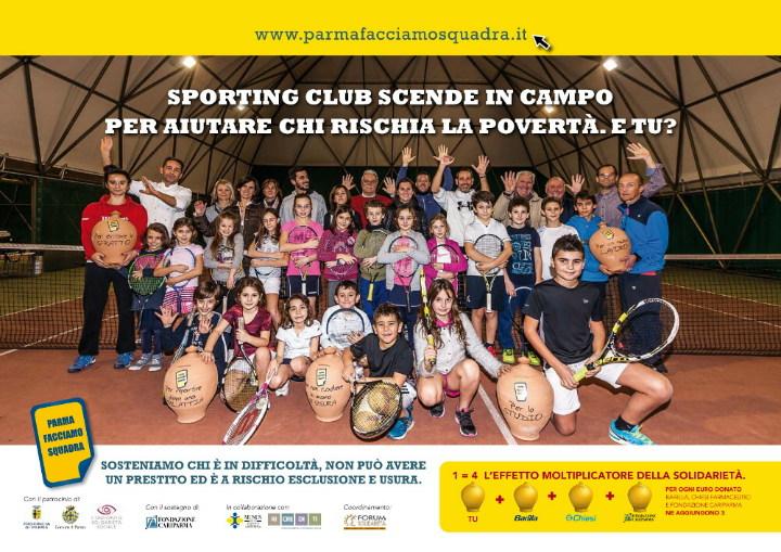 Lo Sporting Club per Parma Facciamo Squadra
