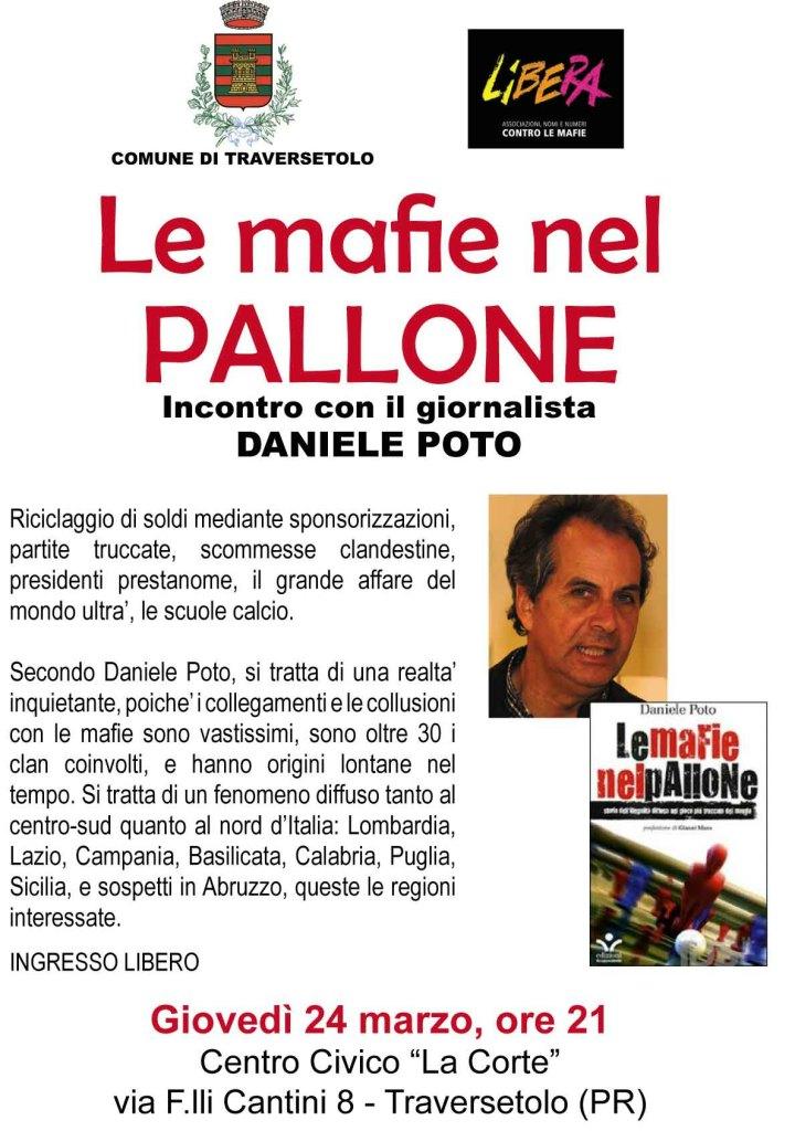 Le mafie nel pallone: incontro con il giornalista Daniele Poto