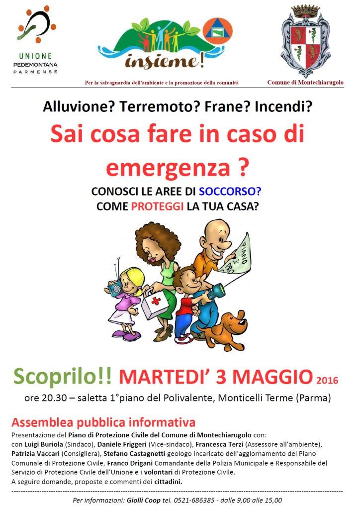 Assemblea a Monticelli Terme