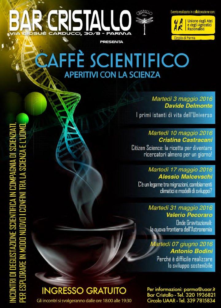 CAFFE', PROSECCO & SCIENZA - Caffè Scientifico U.A.A.R.
