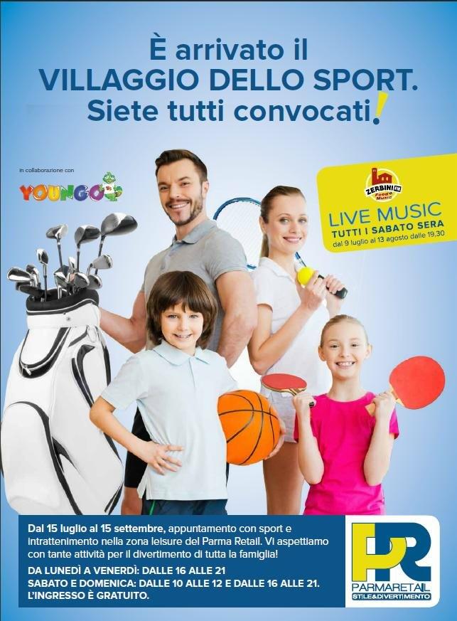 Luglio e Agosto a Parma retail