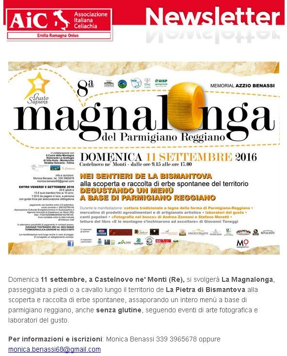 La Magnalonga - 11 settembre Castelnovo ne' Monti (Re)