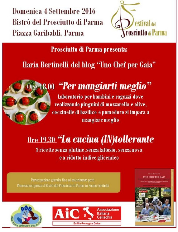 AIC, Festival del Prosciutto - Parma