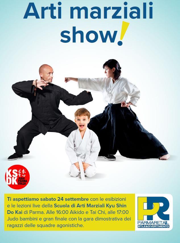 Parma Retail teatro delle Arti Marziali - sabato 24 settembre