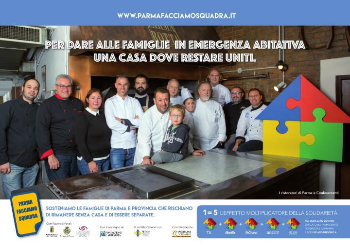 Ristoratori con Parma Facciamo Squadra
